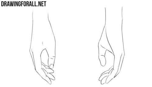 cara menggambar tangan 5