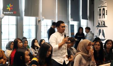 Kreativv Session #1: Millennial Workspace, Bincang Ruang Kerja ala Milenial