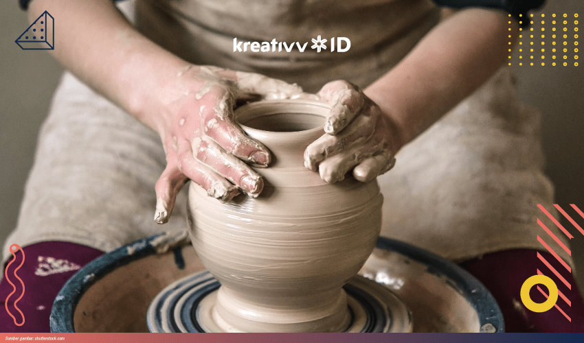 cara membuat clay
