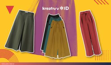 Yuk Intip Inspirasi Gaya Padu Padan Celana Kulot!