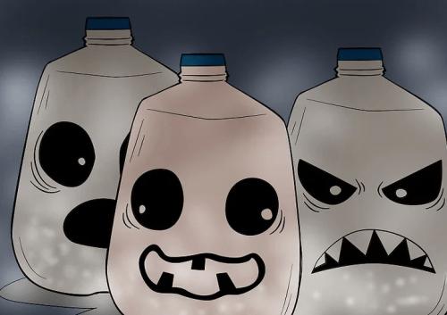 DIY botol hantu