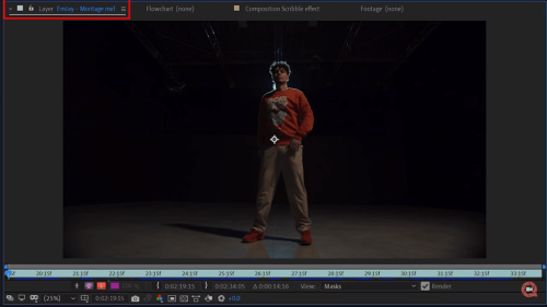 Tutorial After Effect 3
