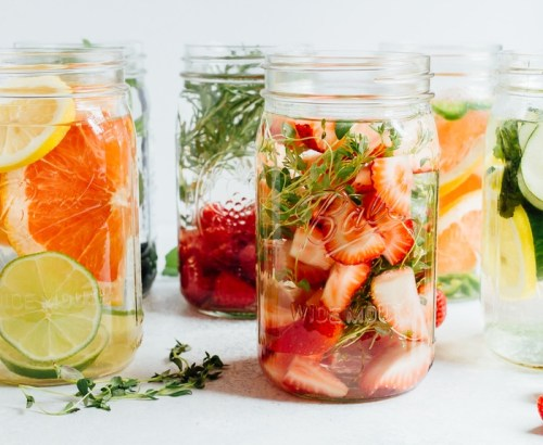 Cara membuat infused water 1