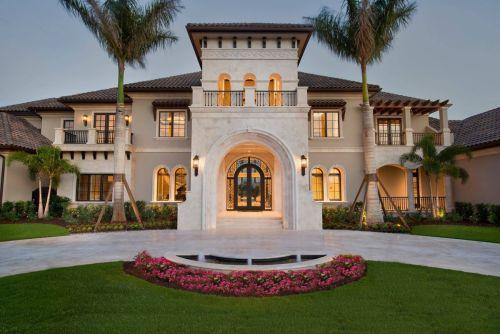 Desain rumah mediterania 1