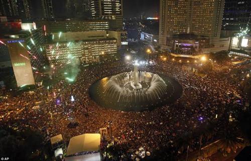 Tempat tahun baruan Jakarta 1