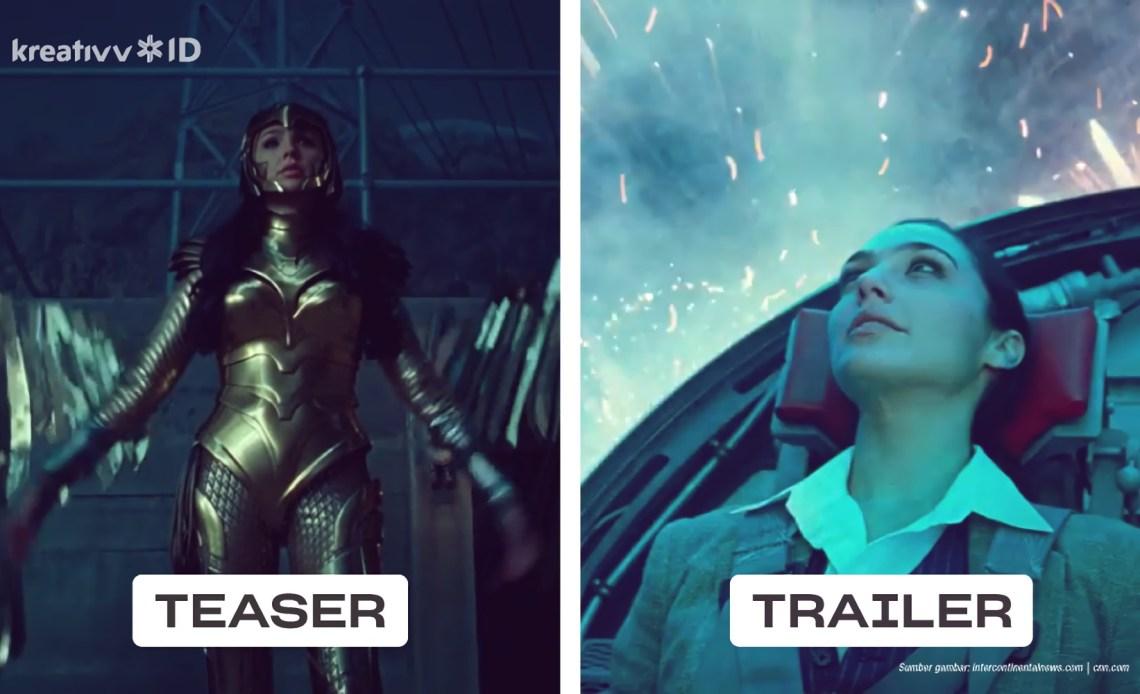perbedaan teaser dan trailer