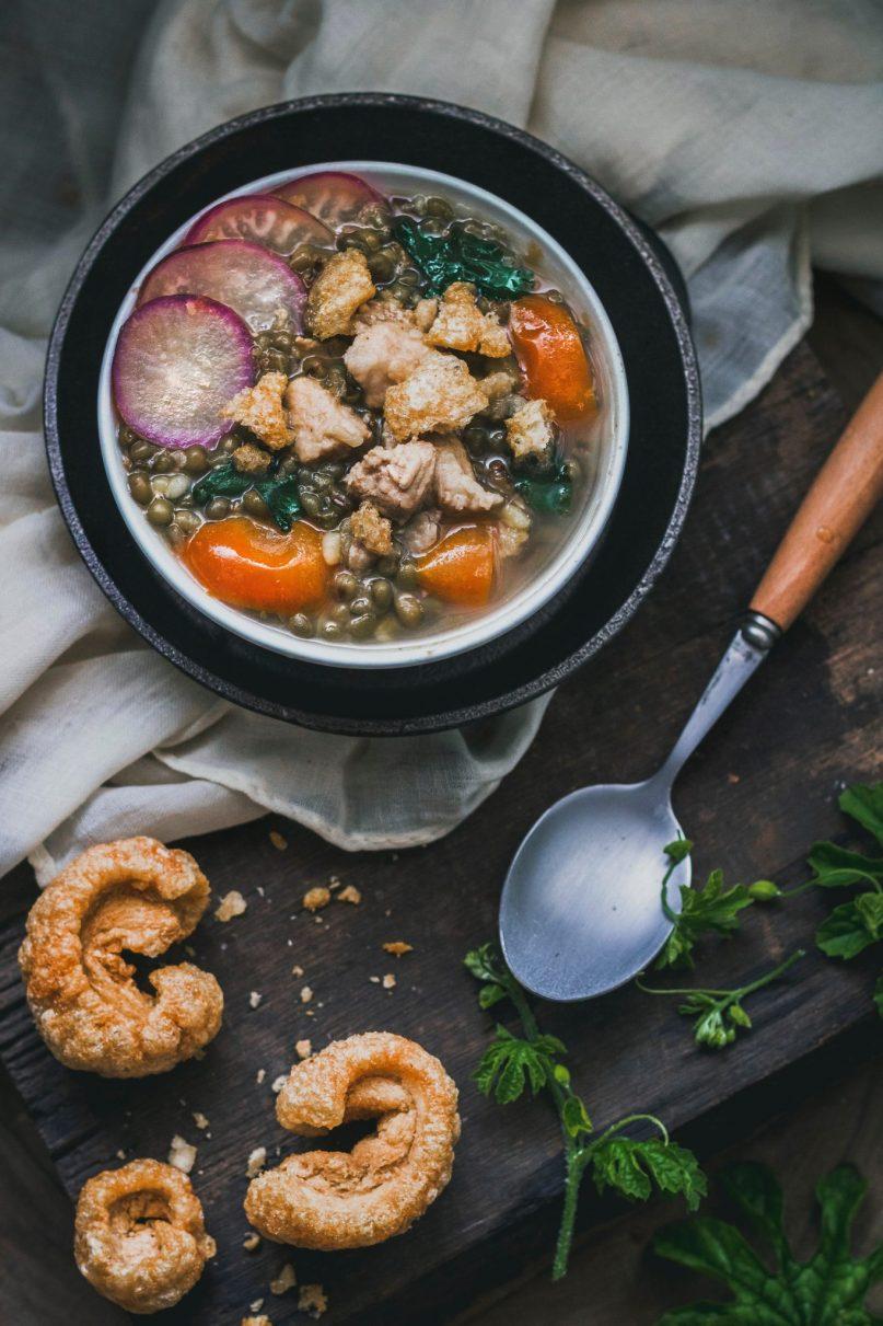 background untuk food photography