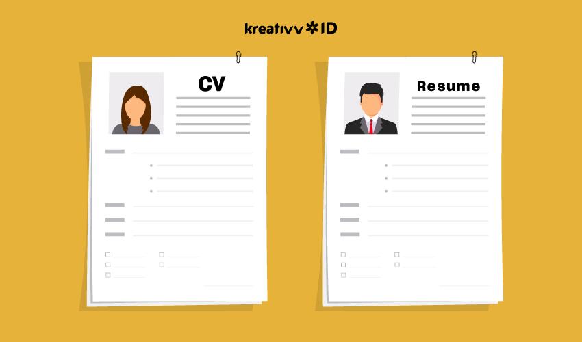 perbedaan-cv-resume