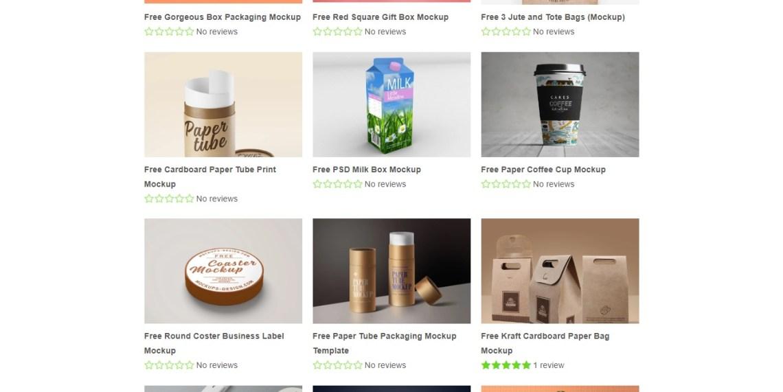 situs mockup packaging makanan