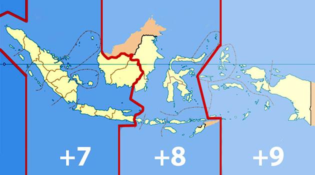 Kenapa Zona Waktu di Indonesia dibagi Menjadi Tiga? Ini Dia Penjelasannya!