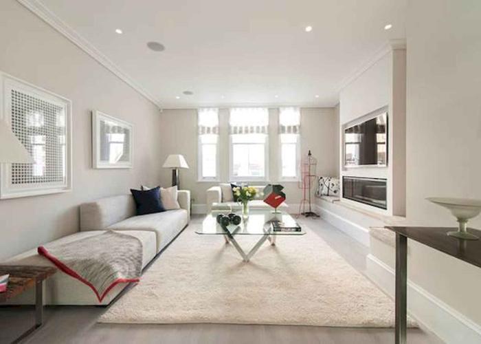 desain ruang keluarga ukuran luas