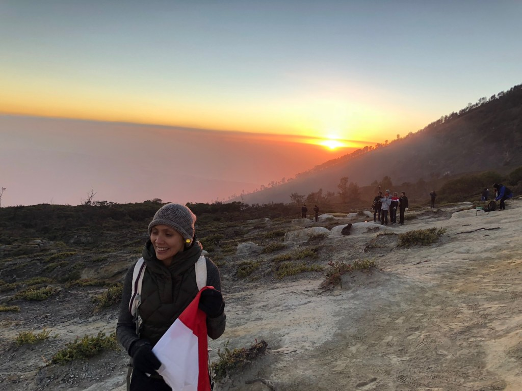 Andini Effendi di Indonesia