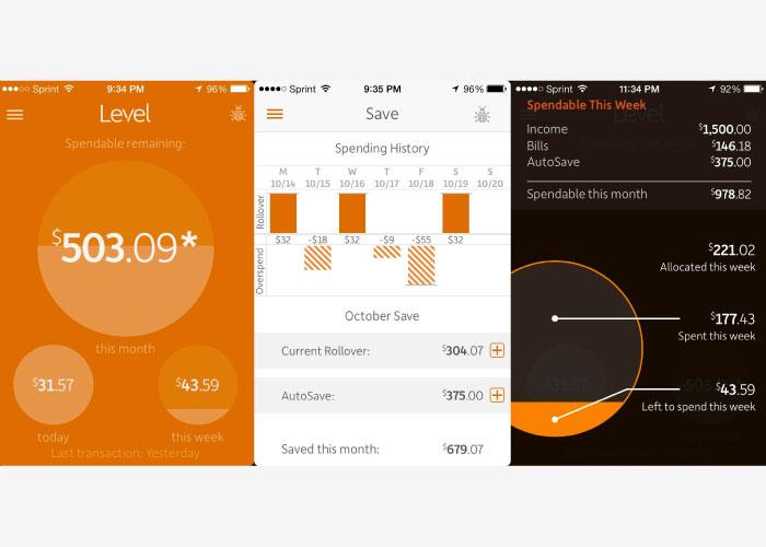 menggunakan Level Money App