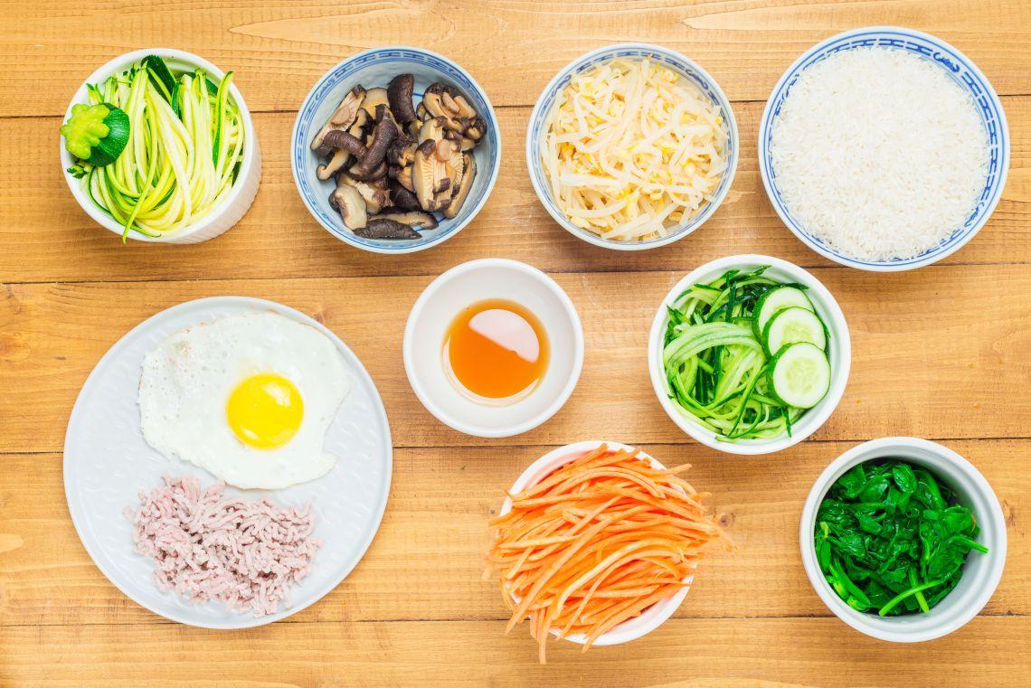 bahan masakan korea