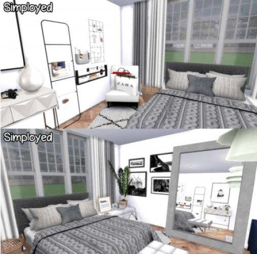 ikea style bedroom