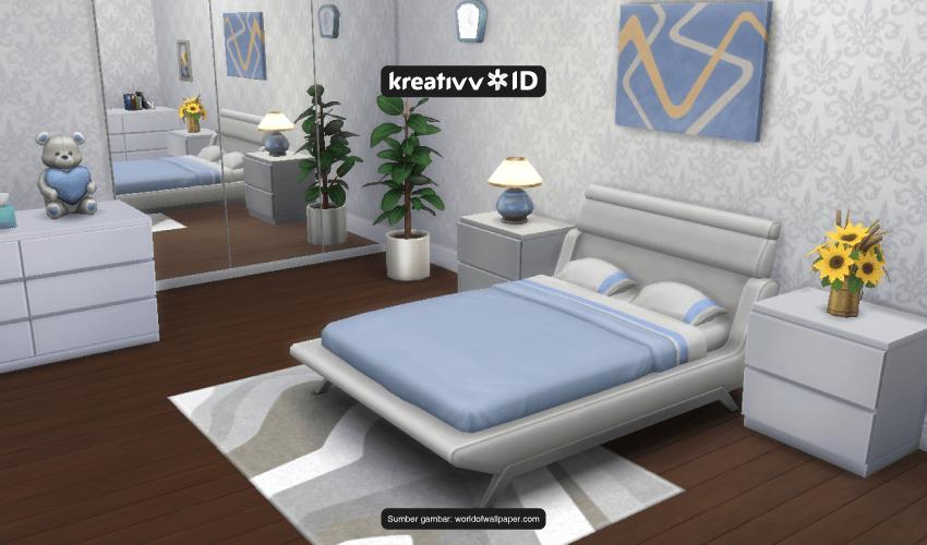 menata kamar ala The Sims 4