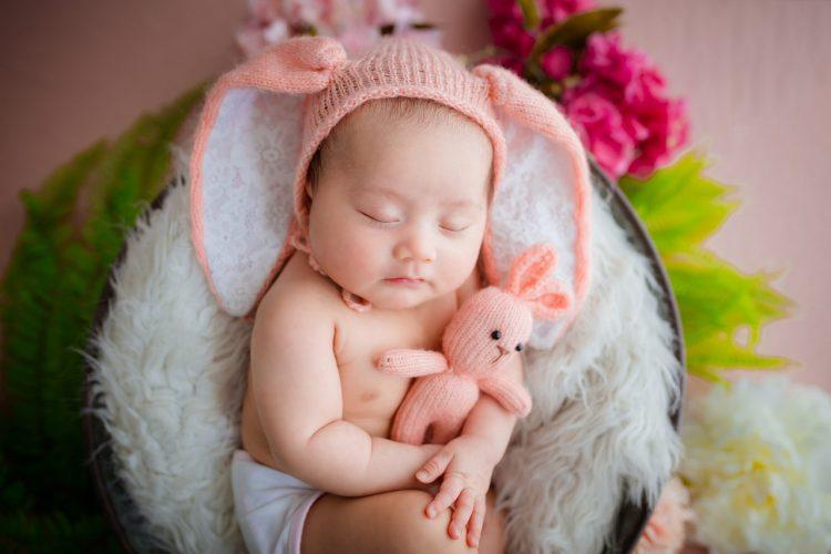 pemilihan konsep foto newborn baby