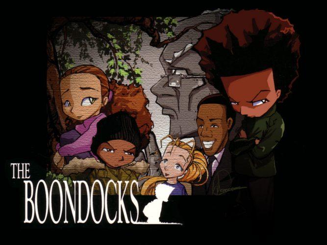 the boondock black animated movie