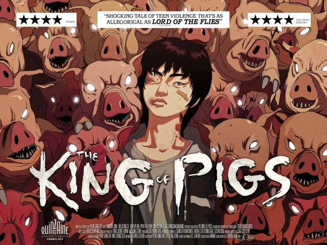 the king of pigs poster