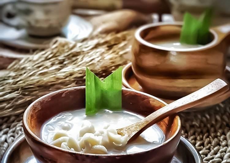 minuman tradisional wedang kacang