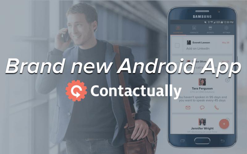 aplikasi contactually