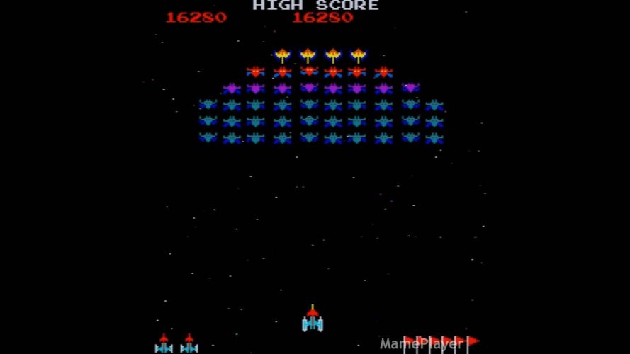game galaxian