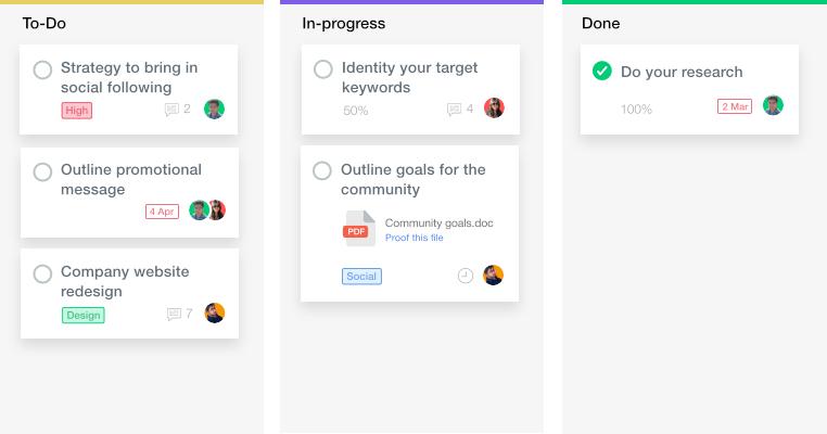 proofhub teamwork project app