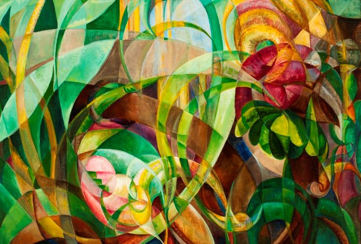 abstract types cubism