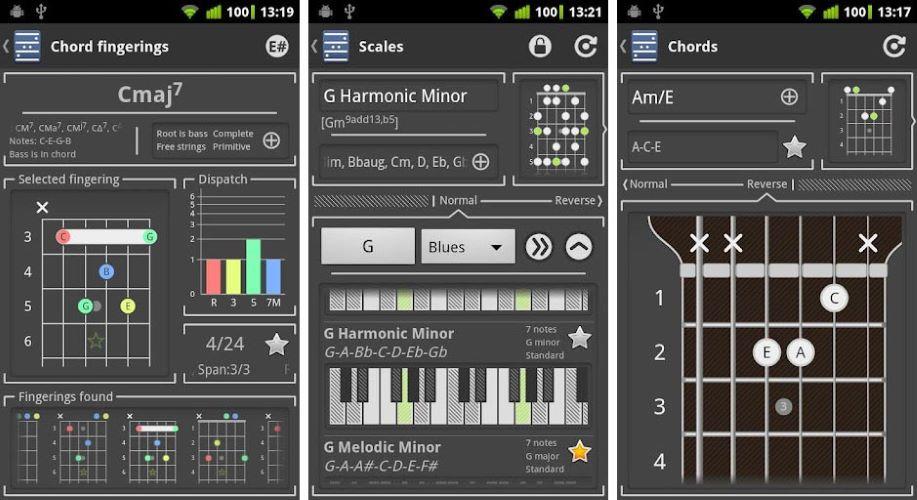 Chord Guitar Chord Finder app