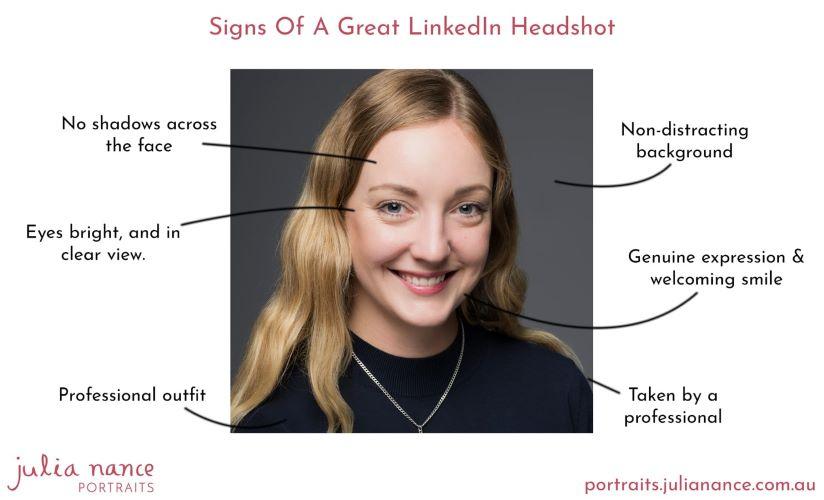 memasang foto di LinkedIn