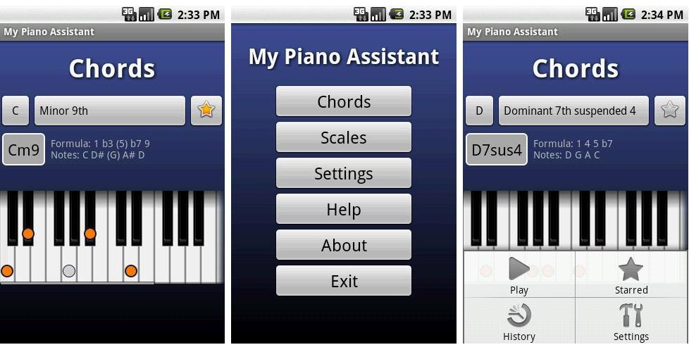 My Piano Assisant aplikasi belajar musik