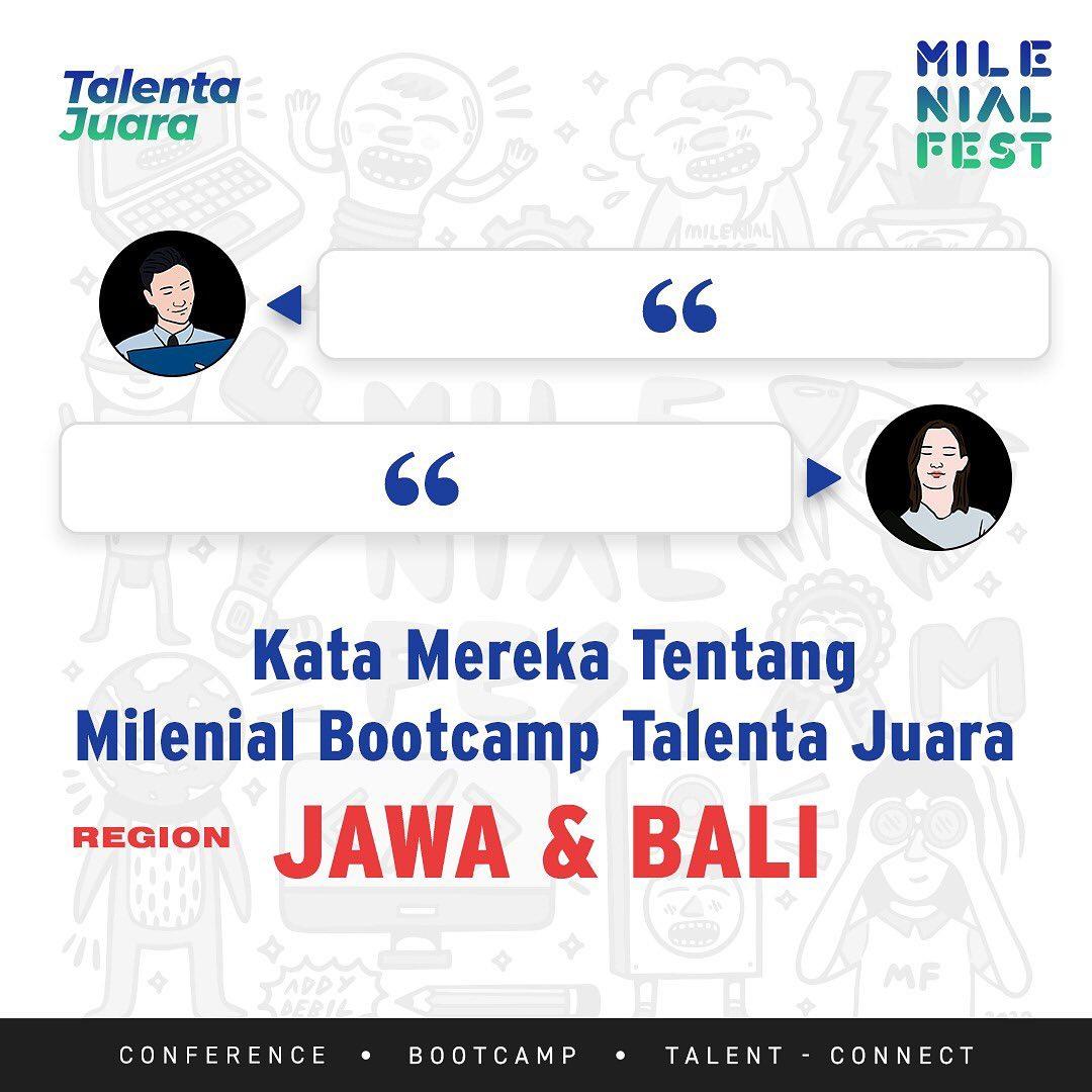 kata peserta milenial bootcamp