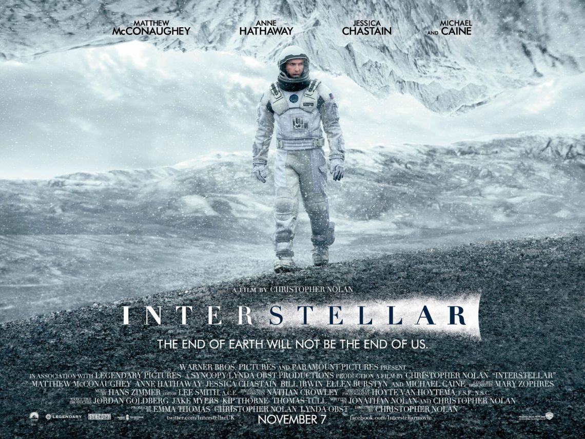 film tentan robot dan ai Interstellar (2014)