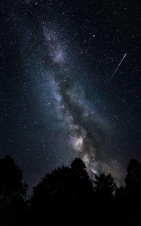 Lakukan astrophotography Perlahan dan dengan Stabil