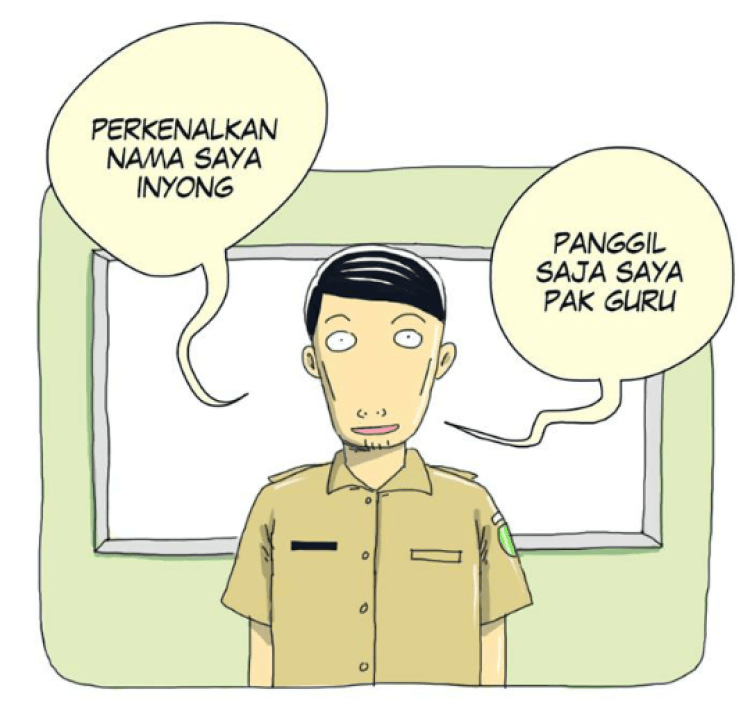 webtoon Pak Guru Inyong