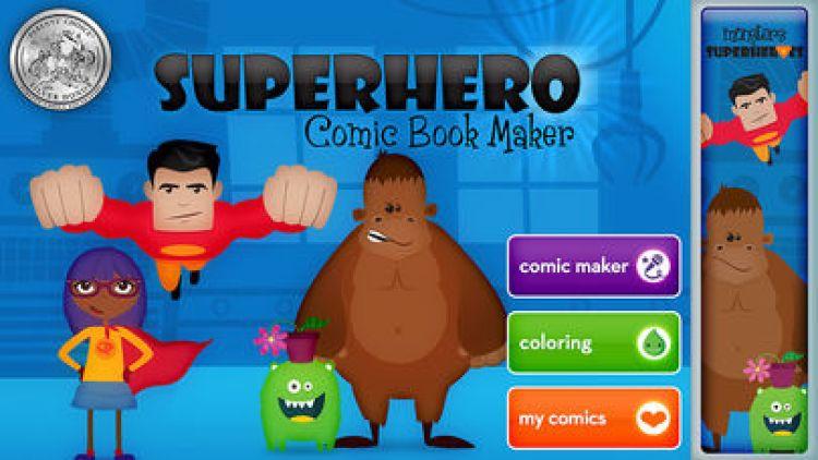 Superhero Comic Book Maker