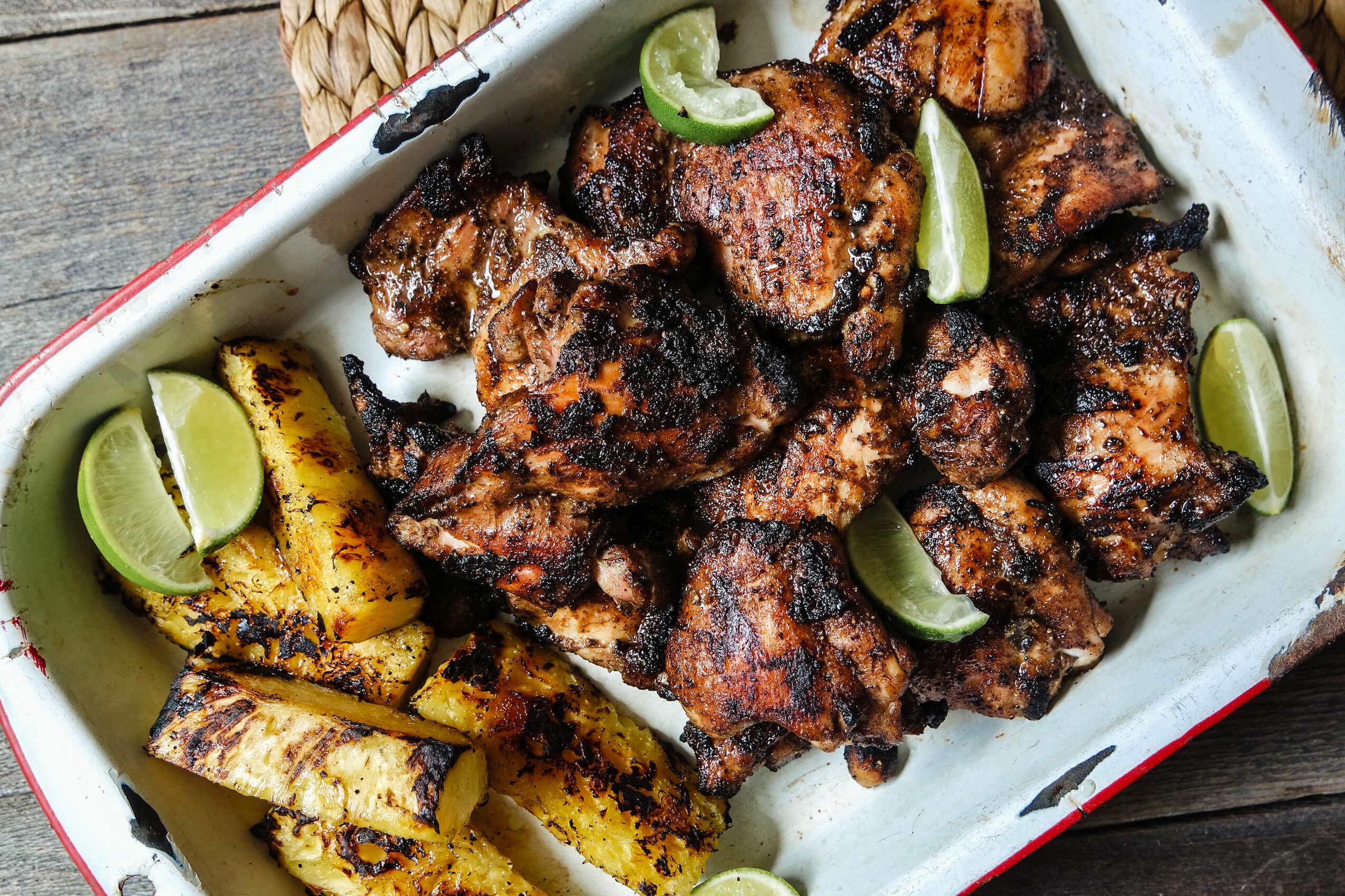 jerk chicken jamaica