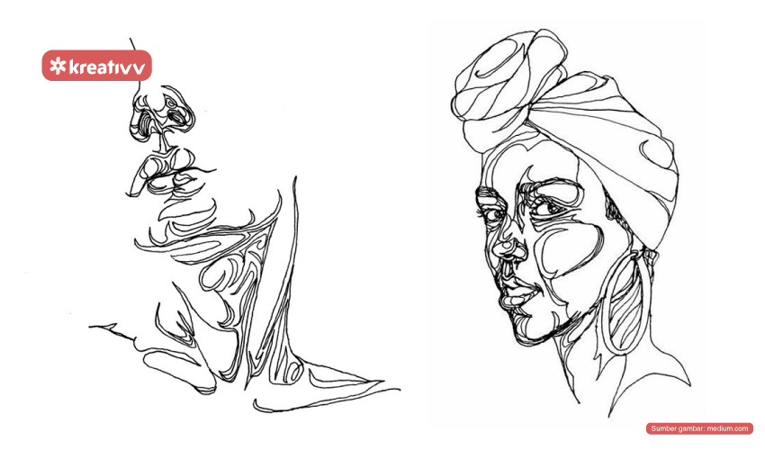 teknik-one-line-drawing