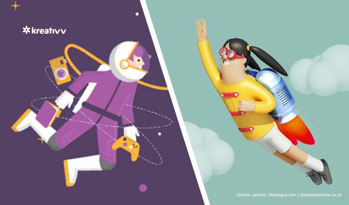 perbedaan-motion-graphic-dengan-animasi