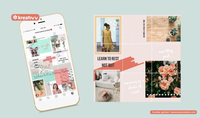 Cara Membuat Foto Instagram Nyambung Biar Feedmu Lebih Aesthetic Kreativv
