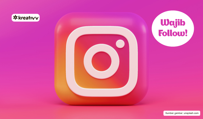 akun instagram yang wajib kamu follow