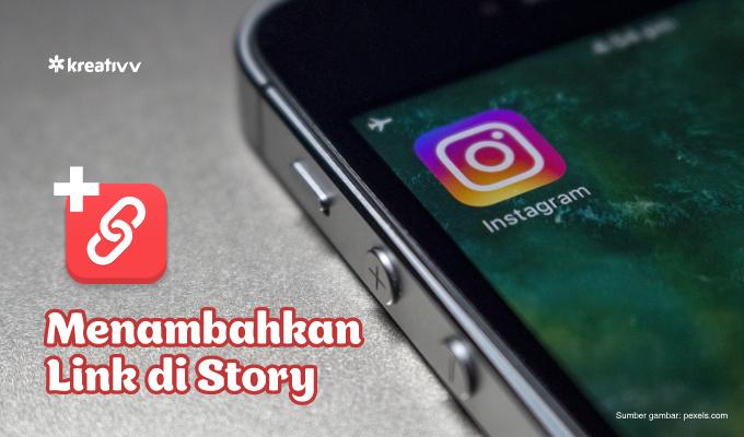 cara menambahkan link ke Instagram