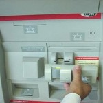 ATM skimmer reader overlay