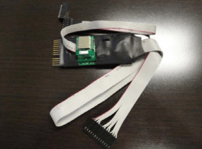 A Bluetooth enabled gas pump skimmer lets thieves retrieve stolen card and PIN data wirelessly while they gas up.