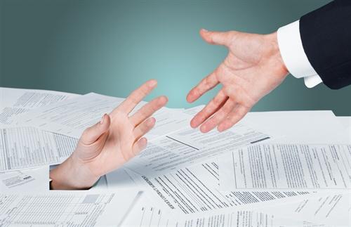 Debt collectors can help