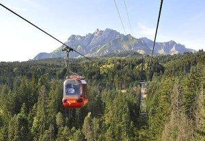 Krienseregg gondola cable car