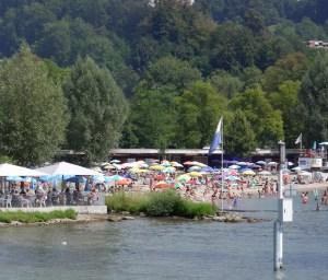 Lido at Lake Lucerne