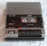 Cassettenrecorder SL 530 ITT mit Micro Nr. 007