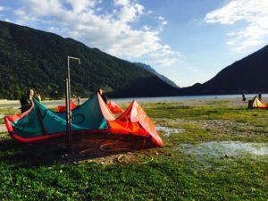 Ett paradis för kite-utövare.