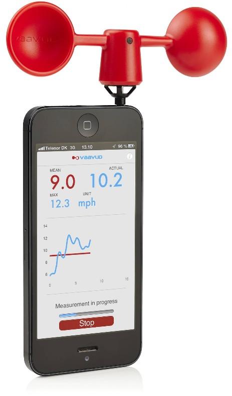 Eschenbach Windmesser für Smartphone 86965